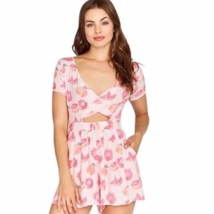 NWT Wildfox • Grapefruit Romper
